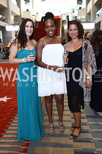 Lisa Wood, Ashley Mason-Greene, Megan Segarra. Photo by Tony Powell. 2017 RAMMY Awards. Convention Center. July 30, 2017