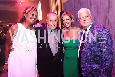Chinyere Hubbard, Jay Haddock-Ortiz, Kathy Hollinger, Hector Torres. Photo by Tony Powell. 2017 RAMMY Awards. Convention Center. July 30, 2017