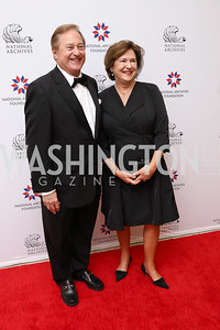 Gov. Jim Blanchard and Janet Blanchard. Photo by Tony Powell. 2017 Records of Achievement Gala. Archives. October 21, 2017