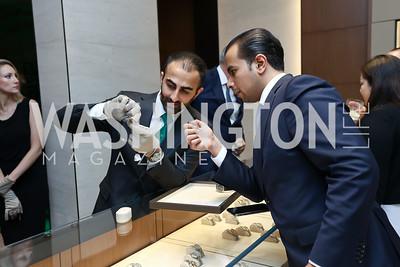 Abraham Kaker, Saud Aldugaishem. Photo by Tony Powell. Rolex Baselworld. Tysons Galleria Liljenquist & Beckstead. May 17, 2017
