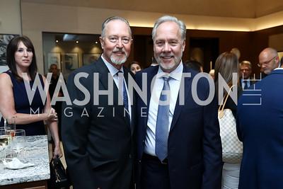 Sid Beckstead, Tom Liljenquist. Photo by Tony Powell. Rolex Baselworld. Tysons Galleria Liljenquist & Beckstead. May 17, 2017