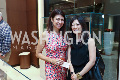 Stephanie Davari, Anne Kim-Dannibale. Photo by Tony Powell. Rolex Baselworld. Tysons Galleria Liljenquist & Beckstead. May 17, 2017