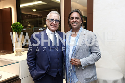 Fred Aghili, Said Saidi. Photo by Tony Powell. Rolex Baselworld. Tysons Galleria Liljenquist & Beckstead. May 17, 2017