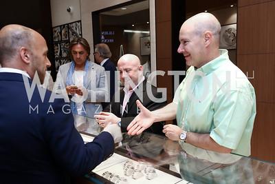 Robert Kaplan, Michael Landow. Photo by Tony Powell. Rolex Baselworld. Tysons Galleria Liljenquist & Beckstead. May 17, 2017