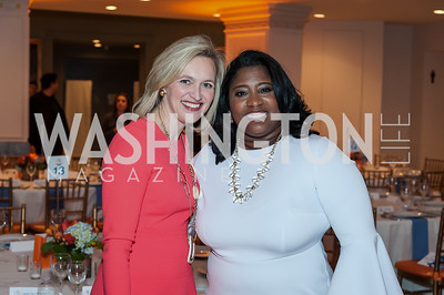 Republican Co-Chair Laura Cox Kaplan, Democratic Co-Chair Tasha Cole. Photo by Tony Powell. 2017 Running Start Women to Watch. NMWA. March 20, 2017