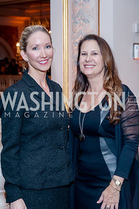 Lindsey Mask, Susan Ostrowski. Photo by Tony Powell. 2017 Running Start Women to Watch. NMWA. March 20, 2017