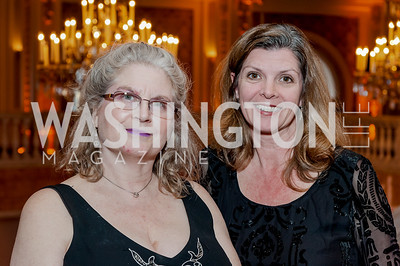 Ruth Goldberg, Peggy Yates. Photo by Tony Powell. 2017 Running Start Women to Watch. NMWA. March 20, 2017