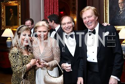 Annie Totah, Olga Ryan, Leo Sahakian, Bob Ryan. Photo by Tony Powell. 2017 Russian Ball. January 14, 2017