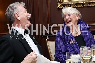 Gerald-David Runkle, Princess Marina Poutiatine. Photo by Tony Powell. 2017 Russian Ball. January 14, 2017