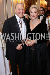 Robert Heggestad, Rose Marie Bogley. Photo by Tony Powell. 2017 Russian Ball. January 14, 2017