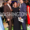 """Jerome Johnson, Janel Merritt, Brian Williams. Photo by Tony Powell. 2017 """"Tennis Shoes, Ties and After Five"""" Gala. SE Tennis & Learning Center. October 27, 2017"""