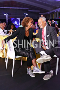 "Daphne and Bill Jarvis. Photo by Tony Powell. 2017 ""Tennis Shoes, Ties and After Five"" Gala. SE Tennis & Learning Center. October 27, 2017"