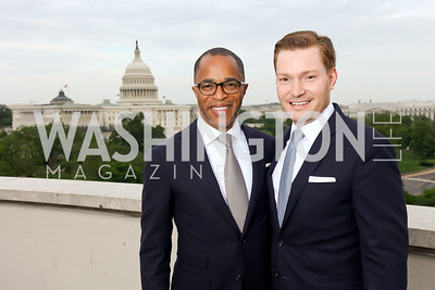 Jonathan Capehart and Nick Schmit. Photo by Tony Powell. Sasha Bruce Sounds of a Bright Future. 101 Constitution. May 1, 2017