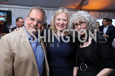 Alan Karchmer, Debbie Shore, Sandra Benedum. Photo by Tony Powell. Sasha Bruce Sounds of a Bright Future. 101 Constitution. May 1, 2017