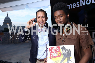DJ Ben Chang, Arthur Halmon-Daniels. Photo by Tony Powell. Sasha Bruce Sounds of a Bright Future. 101 Constitution. May 1, 2017