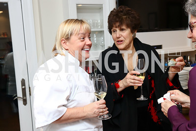 Ipec Entertainment, Los Angeles, CA Chef Sherry Yard, Honorary Chair Joan Nathan. Photo by Tony Powell. 2017 Sips & Suppers. January 29, 2017