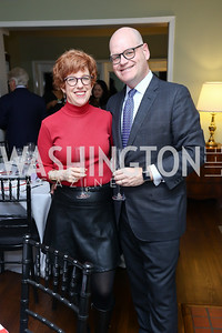 Hosts Tilney Wickersham and Keith Mestrich. Photo by Tony Powell. 2017 Sips & Suppers. January 29, 2017