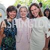 Capricia Marshall, Ann Stock, Rickie Niceta. Photo by Tony Powell. 2017 Social Secretaries Reception. Meridian. July 17, 2017