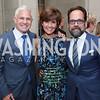 Patrick Steel, Capricia Marshall, Philip Dufour. Photo by Tony Powell. 2017 Social Secretaries Reception. Meridian. July 17, 2017