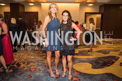 Nancy Gallagher, Alexis Gallagher. Photo by Alfredo Flores. 2017 Spanish Catholic Center Gala. Washington Marriott Marquis. September 30, 2017