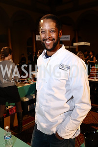 Cakelove Founder Warren Brown. Photo by Tony Powell. 2017 St. Jude Gourmet Gala. Building Museum. February 28, 2017