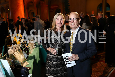 Suzanne and Al Solier. Photo by Tony Powell. 2017 St. Jude Gourmet Gala. Building Museum. February 28, 2017