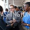 Gloria Nauden, Doug Yeuell, Pascale Nouama. Photo by Tony Powell. 2017 Step Afrika Gala. Union Market. June 1, 2017