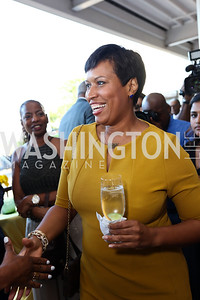 Mayor Muriel Bowser. Photo by Tony Powell. 2017 Step Afrika Gala. Union Market. June 1, 2017