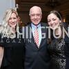 Jen Davis, David Bradley, Amanda Sims Nichols. Photo by Tony Powell. 2017 Teach for America Gala. Ritz Carlton. February 21, 2017