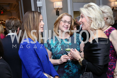 Devon Cone, Lisa Cone, Mary Haft. Photo by Tony Powell. 2017 Teach for America Gala. Ritz Carlton. February 21, 2017