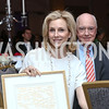 Katherine and David Bradley. Photo by Tony Powell. 2017 Teach for America Gala. Ritz Carlton. February 21, 2017