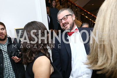 Mark Fraley. Photo by Tony Powell. 2017 Teach for America Gala. Ritz Carlton. February 21, 2017