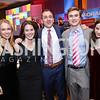 Lily Bou, Catharine Bellinger, Spencer Bradley, Carter Bradley, Sandra Goldlust. Photo by Tony Powell. 2017 Teach for America Gala. Ritz Carlton. February 21, 2017