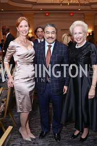 Anne Jacoboski, Bob Hisaoka, Jeannie Rutherfoord. Photo by Tony Powell. 2017 Teach for America Gala. Ritz Carlton. February 21, 2017