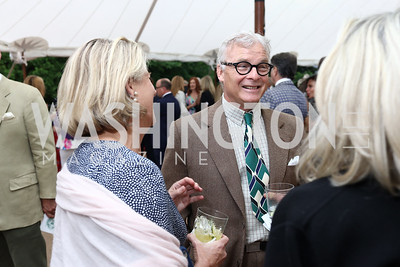 Chris Ohrstrom. Photo by Tony Powell. 2017 Tudor Place Garden Party. May 24, 2017