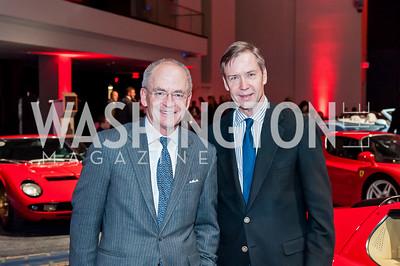 David Lawson, Keith Powell. Photo by Tony Powell. 2017 VIP Exotic Car & Luxury Lifestyle Reception. January 25, 2017