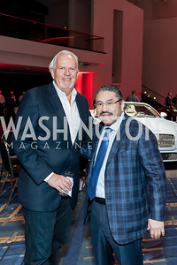 Jack Davies, Bob Hisaoka. Photo by Tony Powell. 2017 VIP Exotic Car & Luxury Lifestyle Reception. January 25, 2017