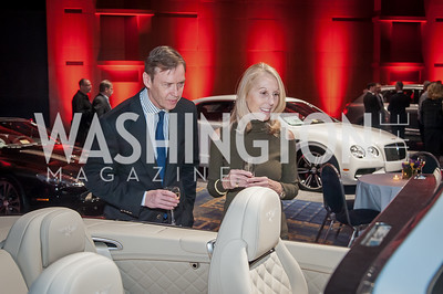 Keith and Marianne Powell. Photo by Tony Powell. 2017 VIP Exotic Car & Luxury Lifestyle Reception. January 25, 2017
