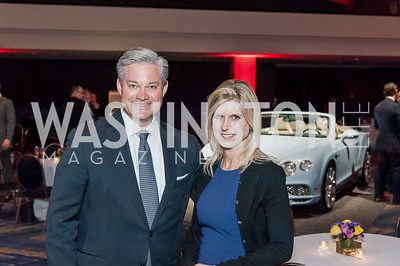 Mark Lowham, Marla Beck. Photo by Tony Powell. 2017 VIP Exotic Car & Luxury Lifestyle Reception. January 25, 2017