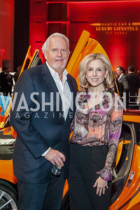 Jack Davies, Katherine Bradley. Photo by Tony Powell. 2017 VIP Exotic Car & Luxury Lifestyle Reception. January 25, 2017