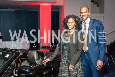 Jalina Porter, Greg O'Dell. Photo by Tony Powell. 2017 VIP Exotic Car & Luxury Lifestyle Reception. January 25, 2017