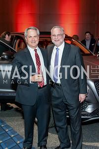 Marc Duber, Steve Schram. Photo by Tony Powell. 2017 VIP Exotic Car & Luxury Lifestyle Reception. January 25, 2017