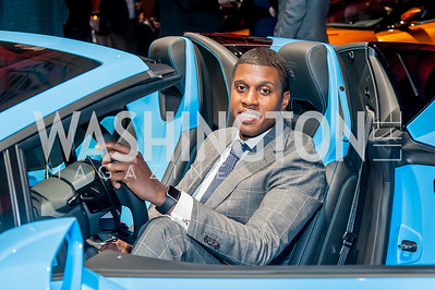 Maurice Owens. Photo by Tony Powell. 2017 VIP Exotic Car & Luxury Lifestyle Reception. January 25, 2017