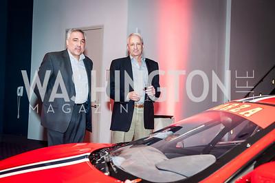 Richard Capoccia, Steve Mayer. Photo by Tony Powell. 2017 VIP Exotic Car & Luxury Lifestyle Reception. January 25, 2017