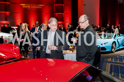 Bob Green, John Ohanian. Photo by Tony Powell. 2017 VIP Exotic Car & Luxury Lifestyle Reception. January 25, 2017