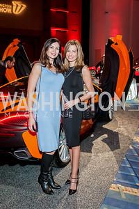Nina Snow, Mona Oswald. Photo by Tony Powell. 2017 VIP Exotic Car & Luxury Lifestyle Reception. January 25, 2017