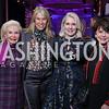 Dianne Kay, Michelle Olson, Jan Smith, Marlene Malek. Photo by Tony Powell. Vital Voices 2017 Global Leadership Awards. Kennedy Center. March 8, 2017