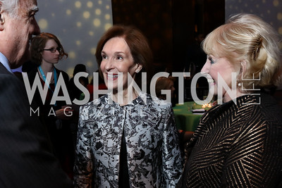 Donna McLarty, Mary Yerrick. Photo by Tony Powell. Vital Voices 2017 Global Leadership Awards. Kennedy Center. March 8, 2017