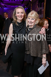 Alyse Nelson, Mary Yerrick. Photo by Tony Powell. Vital Voices 2017 Global Leadership Awards. Kennedy Center. March 8, 2017