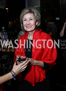 Former Sen. Kay Bailey Hutchison. Photo by Tony Powell. Vital Voices 2017 Global Leadership Awards. Kennedy Center. March 8, 2017
